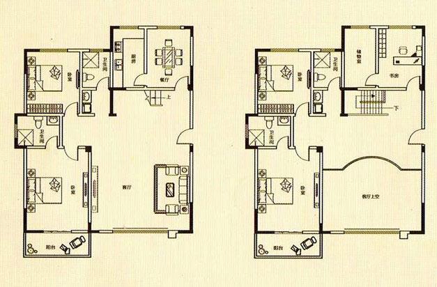 雅室珍本 314.89㎡ 5室2厅