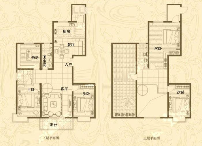 24# 复式 264㎡ 5室2厅