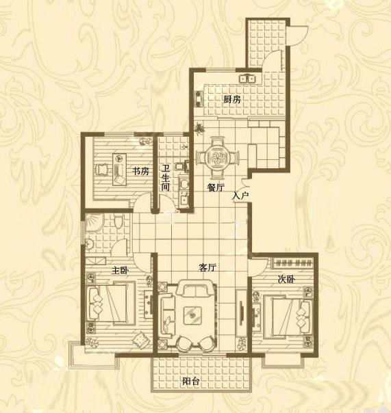 24# 174㎡ 3室2厅