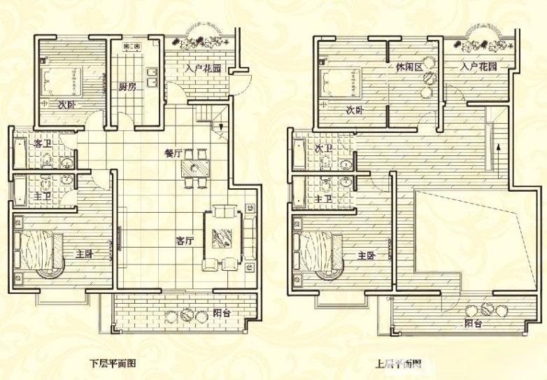 复式 268㎡ 5室2厅