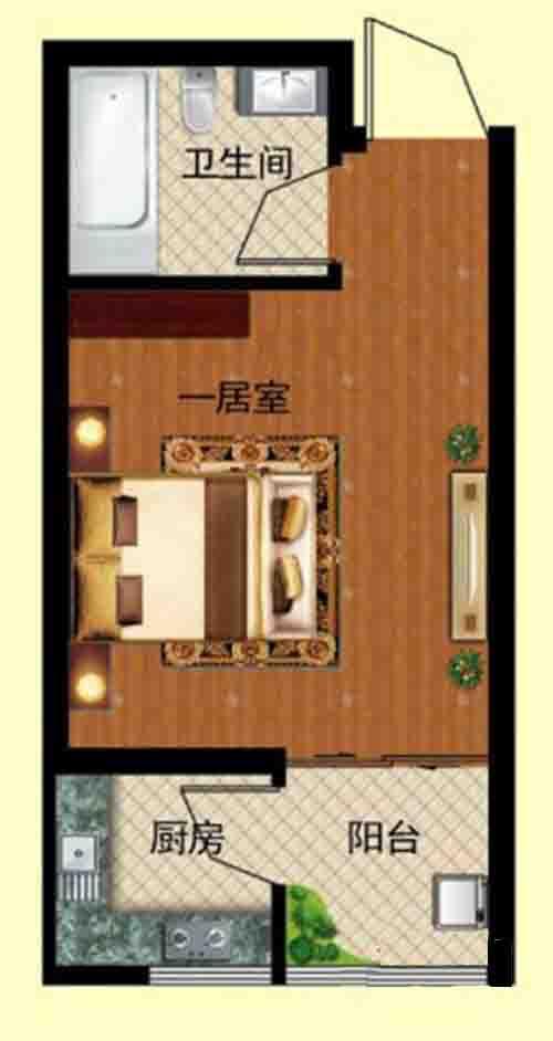 一居室 31.43㎡