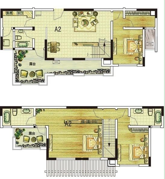 A2三室两厅三卫