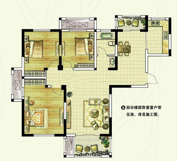 C1 三室两厅一卫