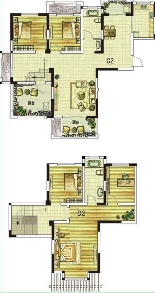 C2 五室两厅