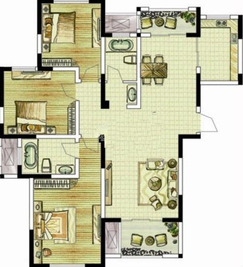 D1 三室两厅