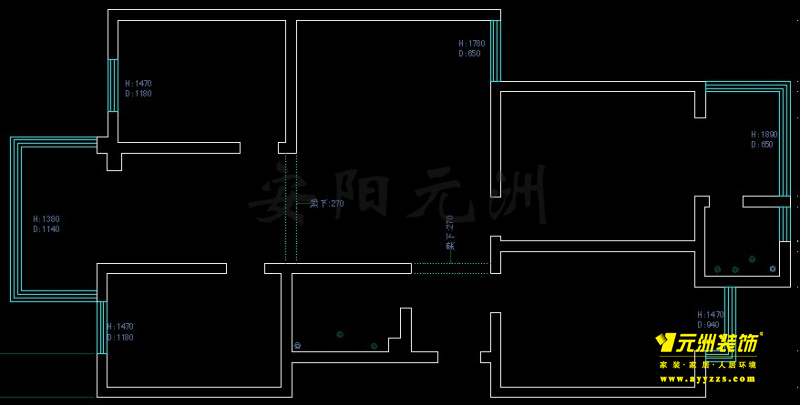 1# 138㎡ 3室2厅