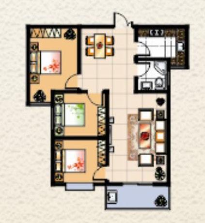 3室 128㎡