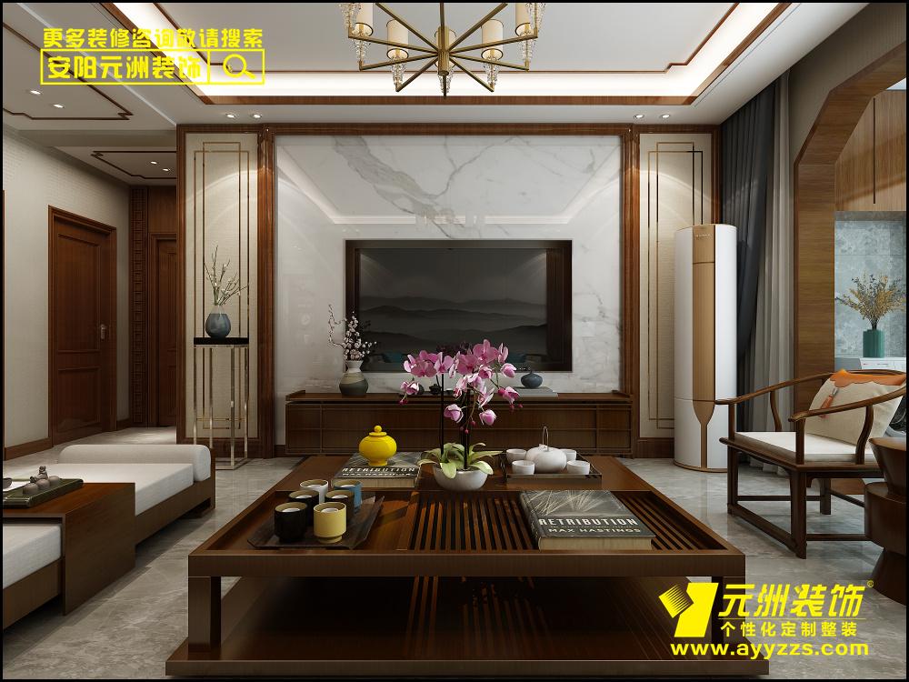 华富世家·150平米·中式风格