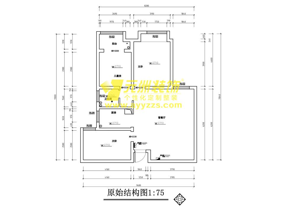 3单元903室·106平米