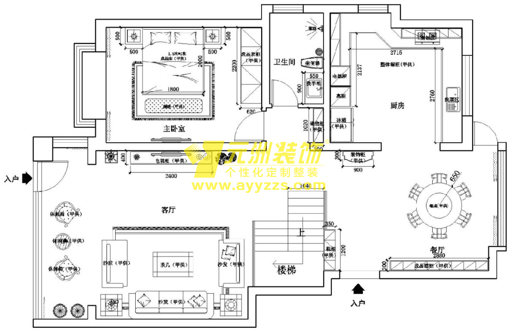 102室·340平米