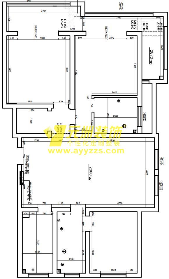 1单元502室·136平米