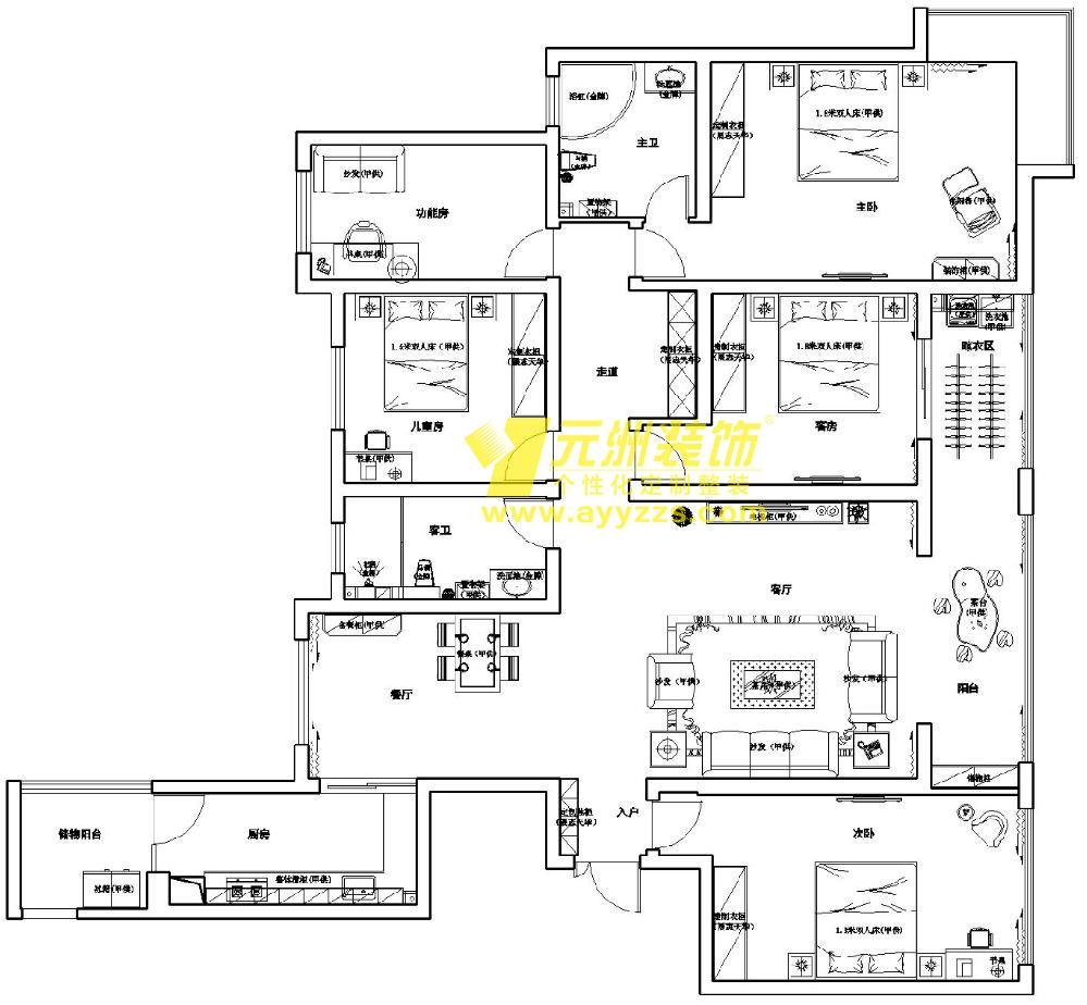 401室·210平米
