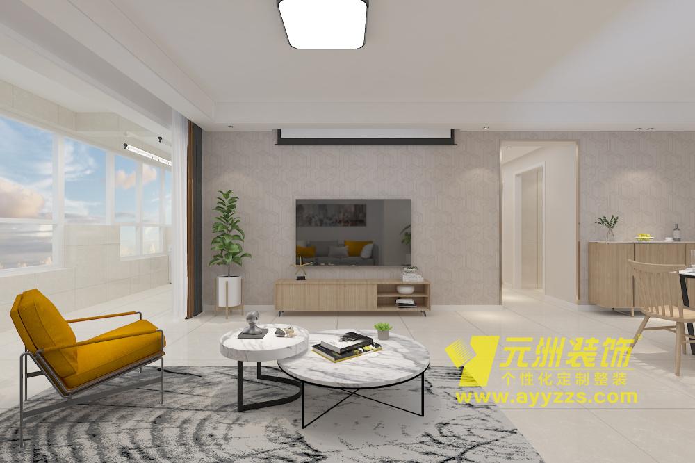 华强城·现代简约·130平米