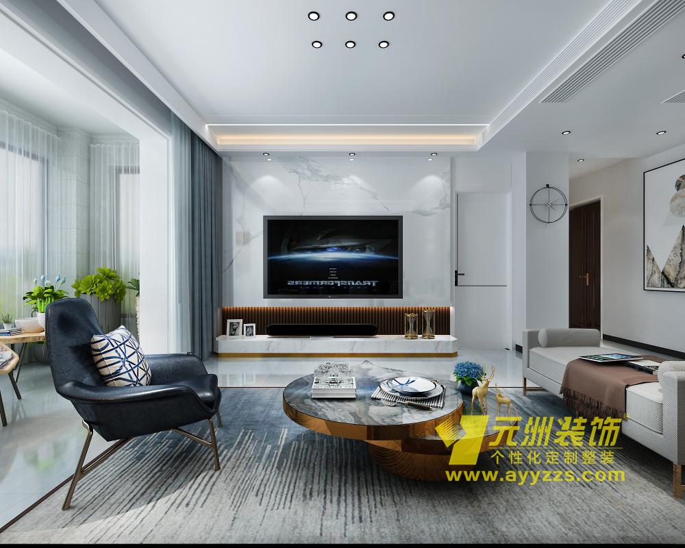 润安枫景台·现代简约·116平米