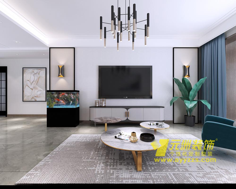 润安枫景台·现代风格·126平米