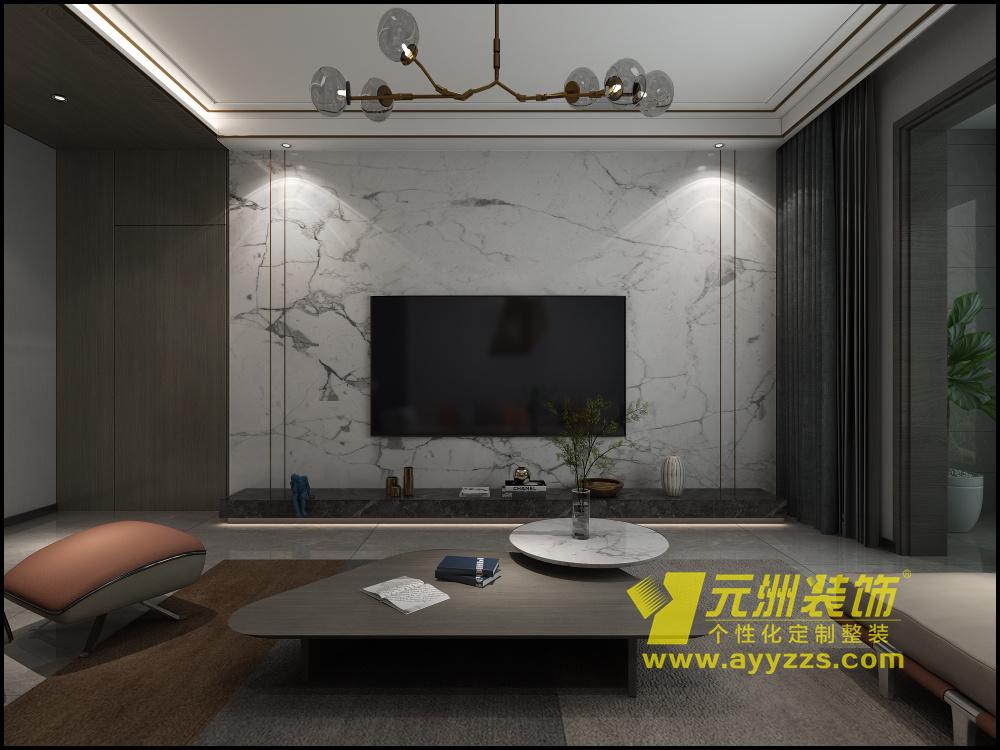 上东国际·现代风格·138平米