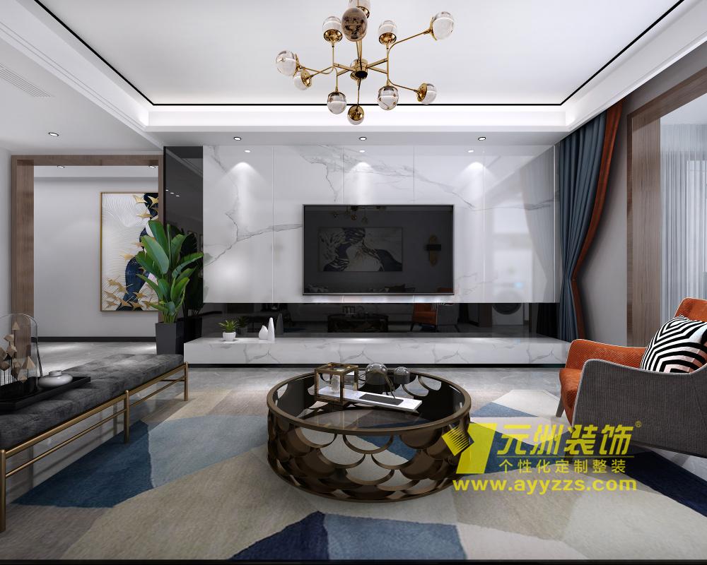 润安枫景台·现代简约·139平米