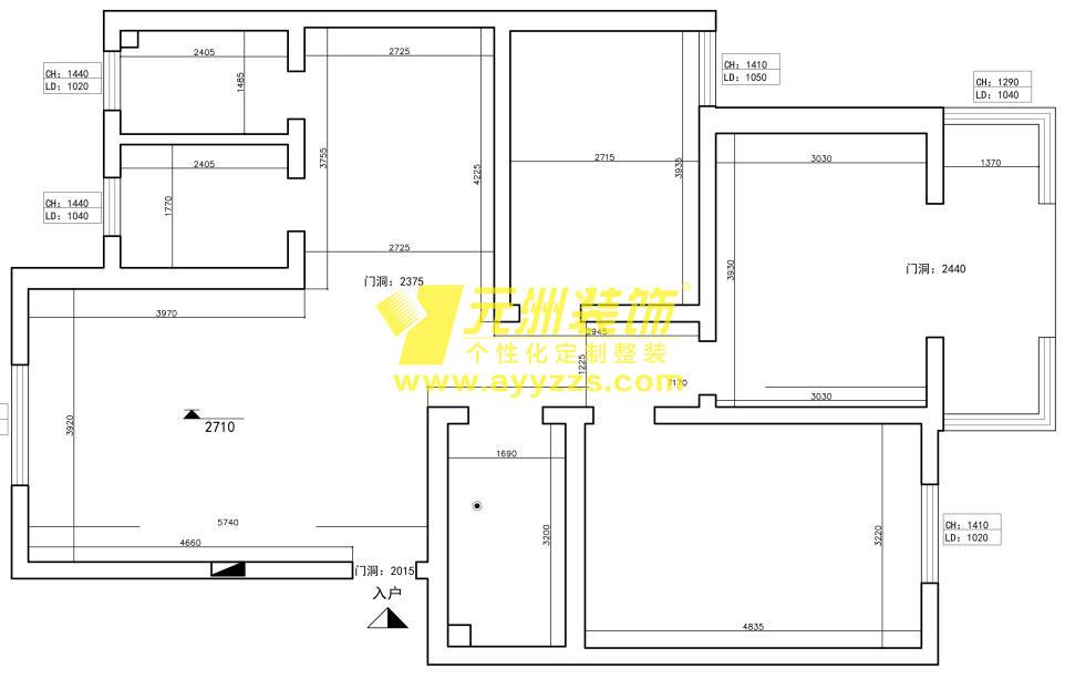 2单元101室·120平米