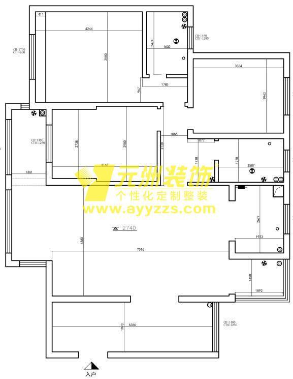 1003室·130平米