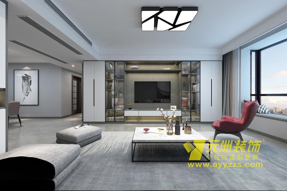 惠安家园·现代简约·200平米