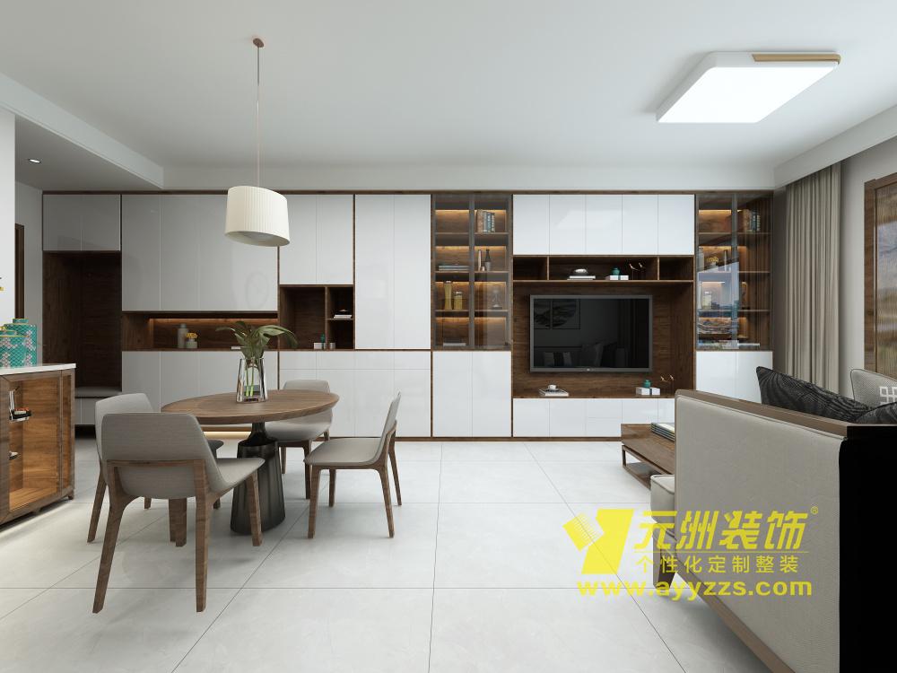 建业桂圆·现代简约·130平米