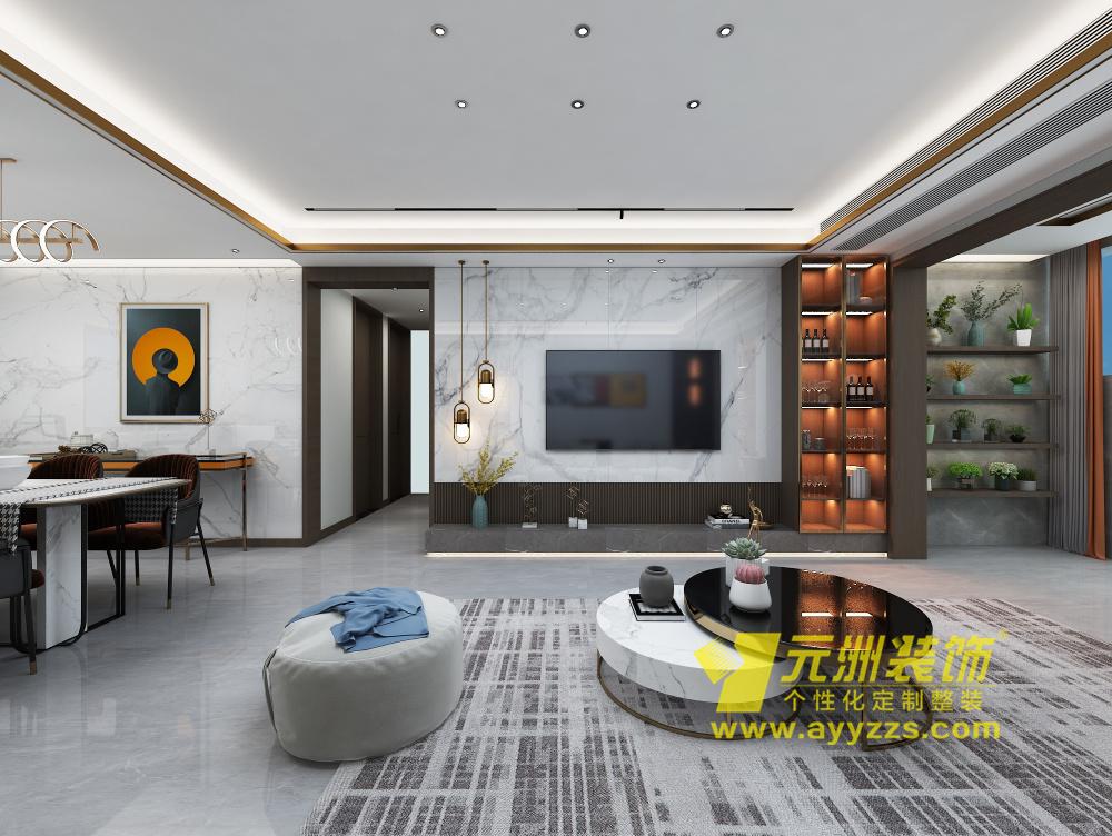 华强城·轻奢风格·135平米