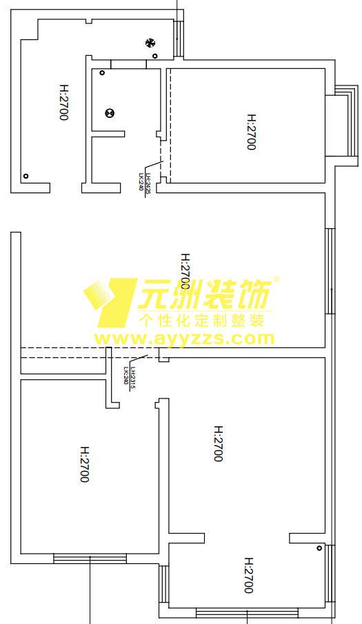 1单元902室·135平米