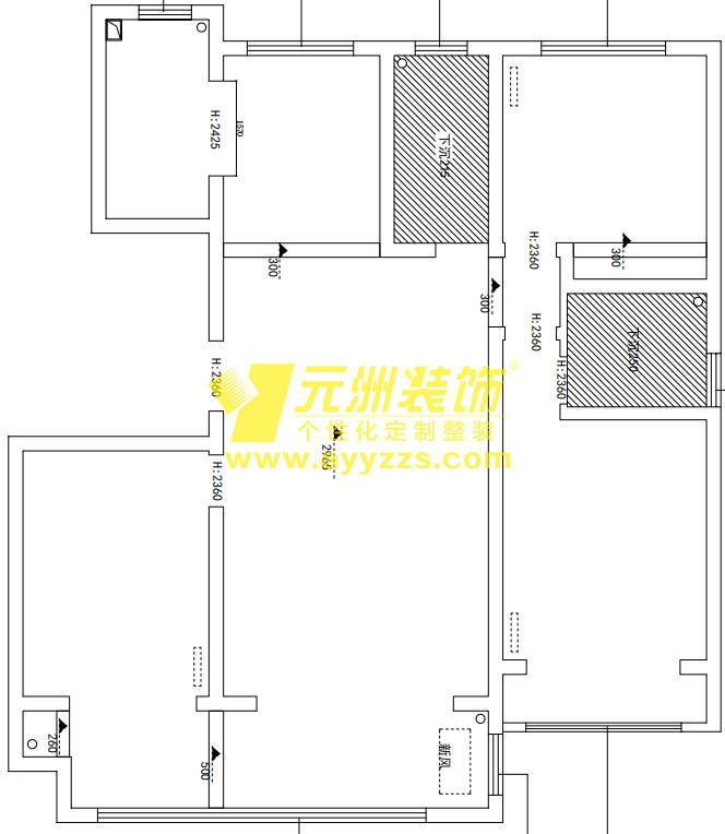 1单元701室·135平米