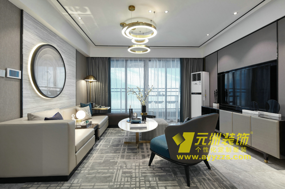 华强城·现代轻奢·170平米